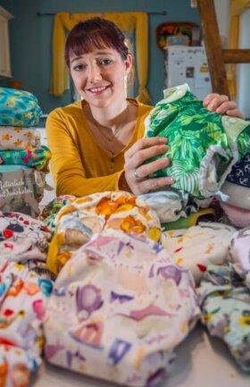Die Stadt Stollberg führt ab Januar einen Zuschuss für den Kauf von Stoffwindeln ein. Initiiert hat dies Karolin Tragelehn, Mutter eines 14 Monate alten Sohnes.