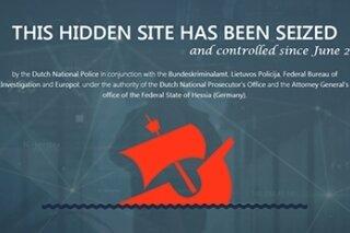 """Beschlagnahme-Siegel im Internet-Zeitalter: """"Diese versteckte Web-Plattform wurde konfisziert."""" So prangt die Marke der Strafverfolger jetzt auf den Zugängen der Basare """"Alphabay"""" und """"Hansa""""."""