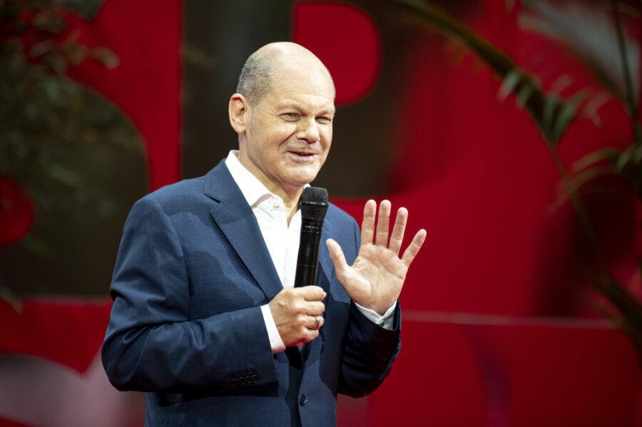 Olaf Scholz (SPD), Bundesfinanzminister und SPD-Kanzlerkandidat.