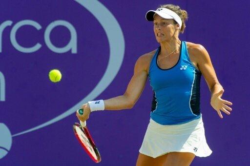 Tatjana Maria steht in der zweiten Runde in Cincinnati