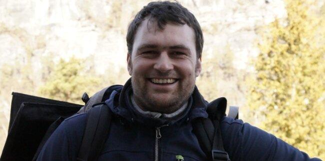 Philipp Pohle (34) ist Pfarrer in der Evangelisch-lutherischen Kirchgemeinde Kreuztanne bei Sayda.