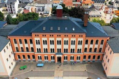 An der Käthe-Kollwitz-Grundschule werden knapp 300 Mädchen und Jungen unterrichtet. Im Haus befindet sich auch eine Oberschule.