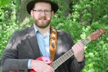 Erzgebirgsmusiker Frank Schubert aus Thum.