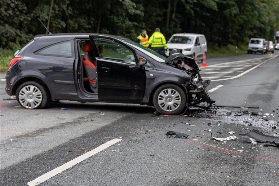 Schwerer Unfall bei Oelsnitz