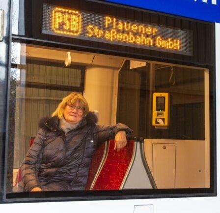 Barbara Zeuner hört Mitte 2021 auf. Den Geschäftsführer-Posten im Plauener Straßenbahnbetrieb hat die Stadt ausgeschrieben. Die PSB-Chefin hofft, dass sich die Politik auch zu dieser Art E-Mobilität klar bekennt.