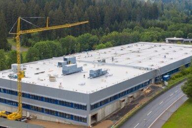 Die erweiterte Produktionshalle der Injecta wird am heutigen Freitag übergeben.