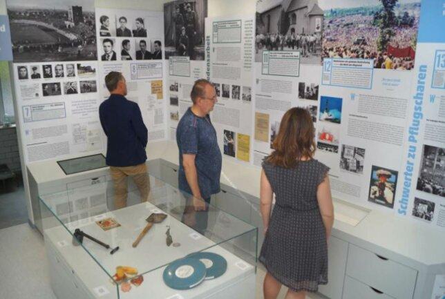Die Dauerausstellung des Kingzentrums in der Werdauer Stadtgutstraße.