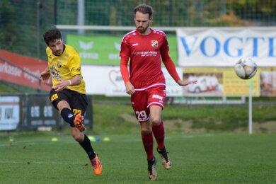Michael Schlicht (links, rechts der Halberstädter Fabian Wenzel) blieb am Samstag die positive Überraschung im Auerbach Team.