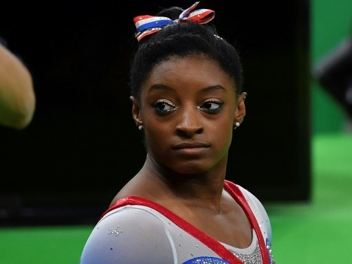 Simone Biles bei Olympia 2016 in Rio de Janeiro