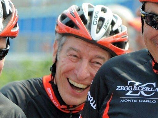 Sitzt auch weiterhin auf dem Rad: Felice Gimondi