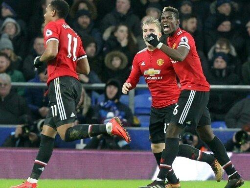 Manchester United schlägt Stoke City 3:0