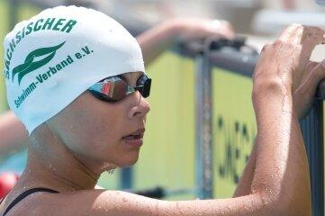 Im Moment keine Wettkampfhöhepunkte im Blick: Kristin Bergmann vom ATSV Freiberg.