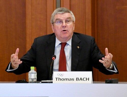 Bach erkennt die Sperre der russischen Athleten an