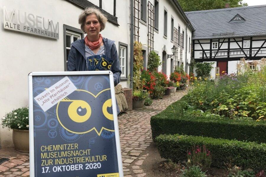 Museumsleiterin Sibylle Karsch ist schon gespannt darauf, wie viele Besucher am Samstagabend ins Stadtmuseum kommen werden. Erstmals beteiligt sich die Einrichtung an der Chemnitzer Museumsnacht.