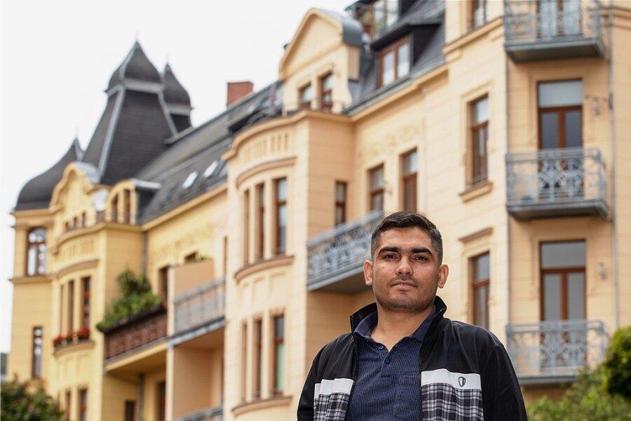 Jalil Torkman kam mit seiner Frau und ihren Eltern nach Plauen. Seine beiden Söhne sind hier geboren.
