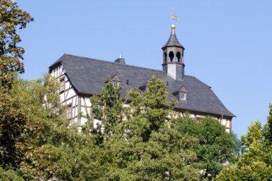 Das Schloss Jößnitz könnte bald privatisiert werden.