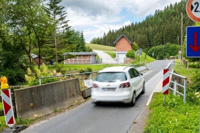 An der Engstelle über die Preßnitz soll der Baustart erfolgen.
