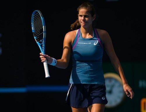 Julia Görges steht nach starker Leistung im Halbfinale