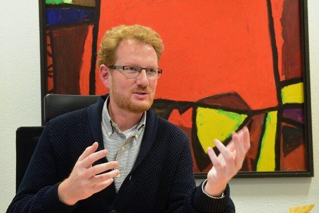 Ferenc Csák hat die Bewerbung von Chemnitz um den Titel Kulturhauptstadt Europas geleitet.