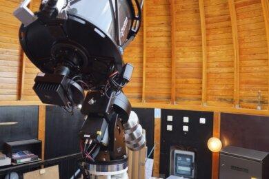 So wird das neue Hauptbeobachtungsinstrument für die Sternwarte in Rodewisch aussehen.