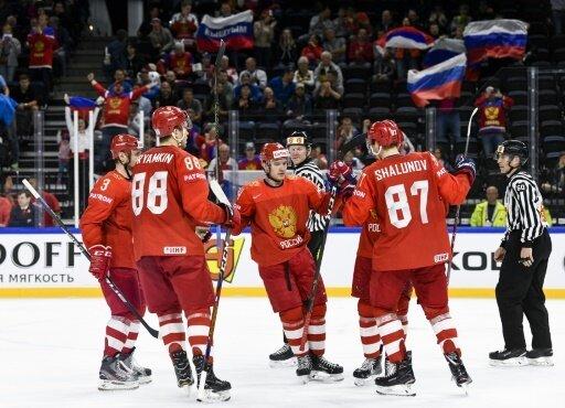 Russland gewann auch das dritte WM-Spiel in Folge