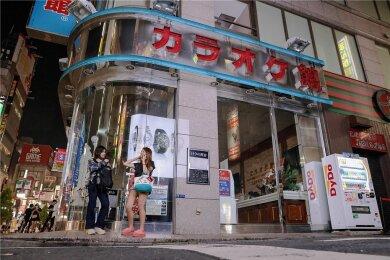 Diese Karaoke-Bar im Tokioter Stadtteil Shinjuku schließt in den Olympiatagen ab 20 Uhr ihre Pforten.