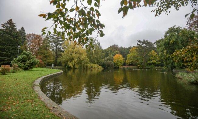 Eine Attraktion im Park Wettinhain in Burgstädt ist der Springbrunnen. Er und andere Sehenswürdigkeiten sollen weitergestaltet und erhalten werden. Dafür lässt die Stadt ein Entwicklungskonzept erstellen. Erste Ergebnisse liegen jetzt vor.
