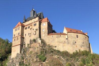 In diesem Jahr gab es bereits über 46.000 Besucher auf Burg Kriebstein.