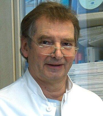 "<p class=""artikelinhalt"">Hans Volkmann - Ärztlicher Direktor des Klinikums. </p>"