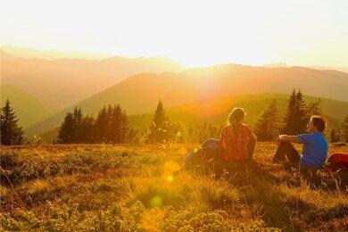 Wandern schafft Distanz zum Alltag, sagt der Philosoph Albert Kitzler.
