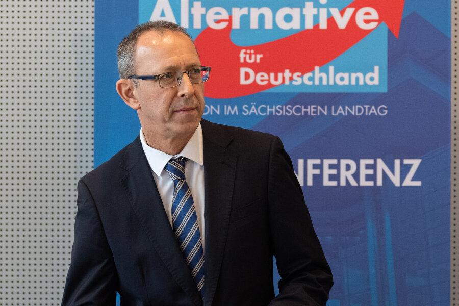 AfD-Chef: Noch vor einer Woche Kontakt zur Werte-Union wegen Minderheitsregierung