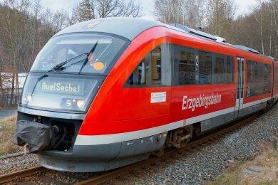 Bürger aus dem Lößnitzer Ortsteil Dittersdorf wünschen sich einen neuen Haltepunkt der Erzgebirgsbahn.