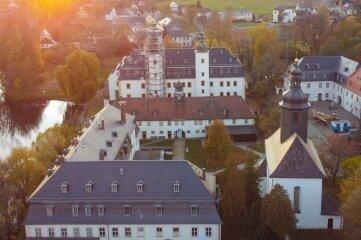 Blick zum Museum im Ortsteil Blankenhain.