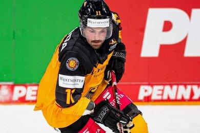 Verteidiger Marco Nowak, der aus Dresden stammt, spielt seine zweite WM für Deutschland.