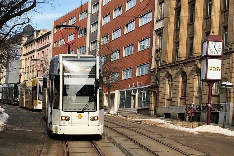Nur Straßenbahnen sollen über die mittlere Bahnhofstraße rollen.
