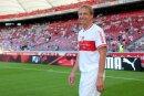 Beim VfB im Gespräch:Jürgen Klinsmann