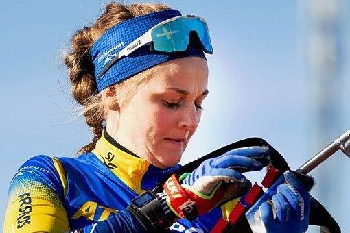 Neues Arbeitsgerät: Stina Nilsson gab Ende März ihren Wechsel ins Biathlonlager bekannt.