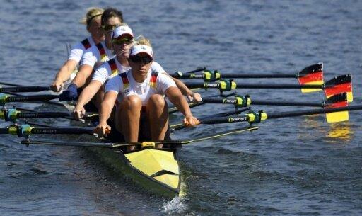 Der Frauen-Doppelvierer hat WM-Silber gewonnen