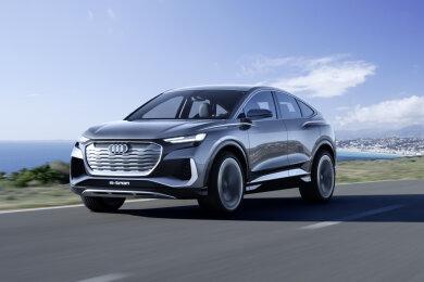 So sieht der neue Elektro-Audi aus Zwickau aus.