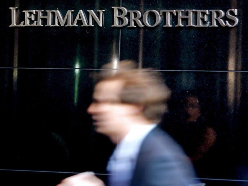 Die Zentrale der US-Investmentbank Lehman Brothers in New York im September 2008.