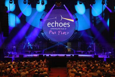 Die Pink-Floyd-Tribute-Band hat am Samstag 1500 Besucher in die Zwickauer Stadthalle gelockt.