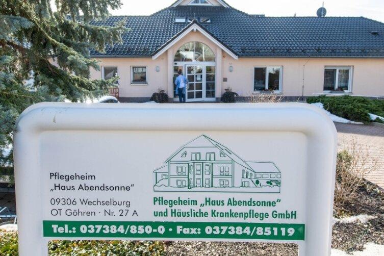 """Das Pflegeheim """"Haus Abendsonne"""" in Göhren. Vor kurzem hatte es Coronafälle bei Bewohnern und Personal gegeben. Mit Unterstützung, auch von Freiwilligen, konnte der Betrieb weiter gewährleistet werden."""