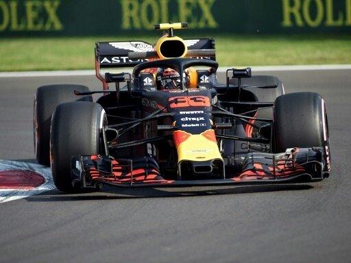 Max Verstappen war schnellster im freien Training