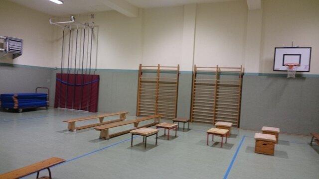 Notunterkunft in der Gotthold-Ephraim-Lessing Grundschule