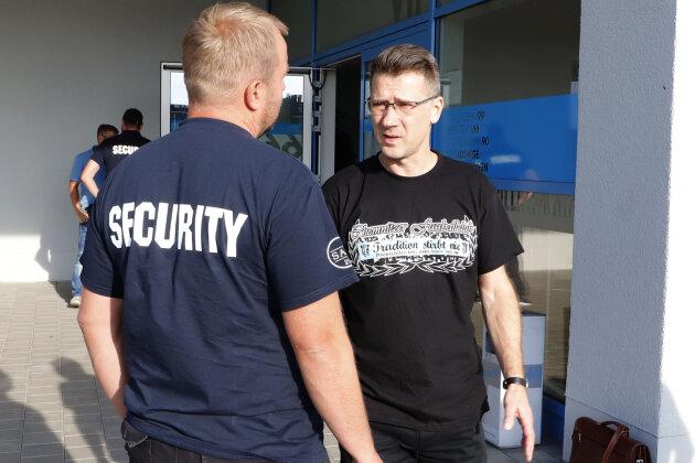 Der suspendierte Vorstand des CFC, Andreas Georgi, wurde beim Fanclubtreffen am Mittwochabend nicht ins Stadion gelassen.