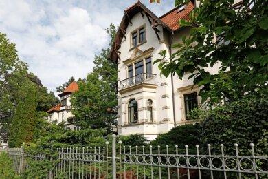 Diese Villa an der Martinistraße gehört zum klassischen Glauchauer Villenviertel.