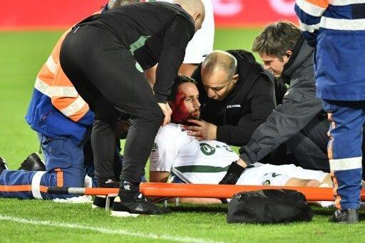 Neven Subotic verletzte sich schwer am Kopf
