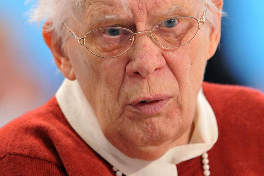 Greta Wehner mit 93 Jahren in Dresden gestorben