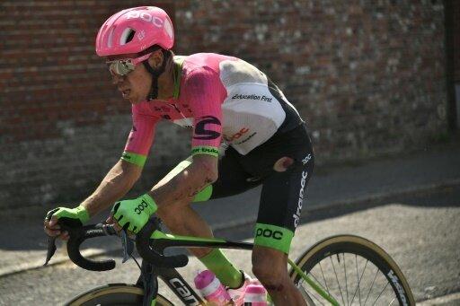 Für Rigoberto Uran ist die Tour nach einem Sturz beendet