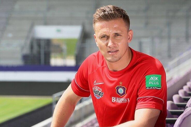 Vom FC Erzgebirge mit einem Dreijahresvertrag ausgestattet: der neue Cheftrainer Aleksey Shpilevski.